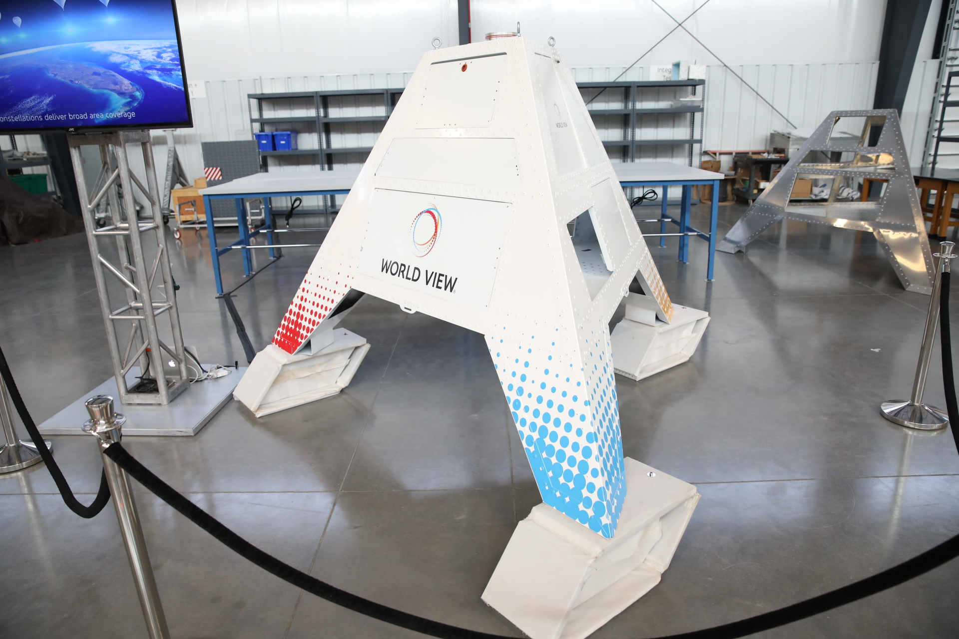A stratollite, which can be equipped with various sensors and other payloads.