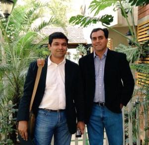 Blume Ventures cofounders (L-R) Karthik Reddy and Sanjay Nath.