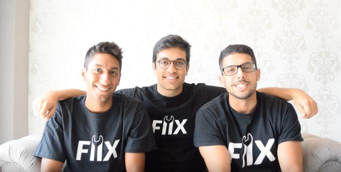 Fiix co-founders Khallil Mangalji, Zain Manji, and Arif Bhanji