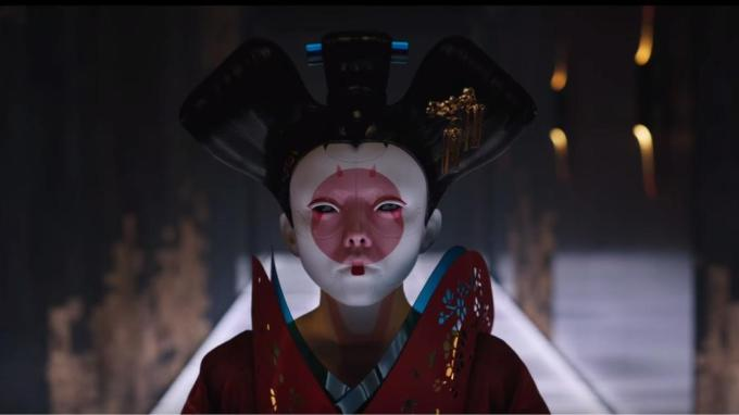 Ghost in the Shell geisha robot