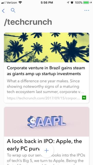 Index mobile screenshot