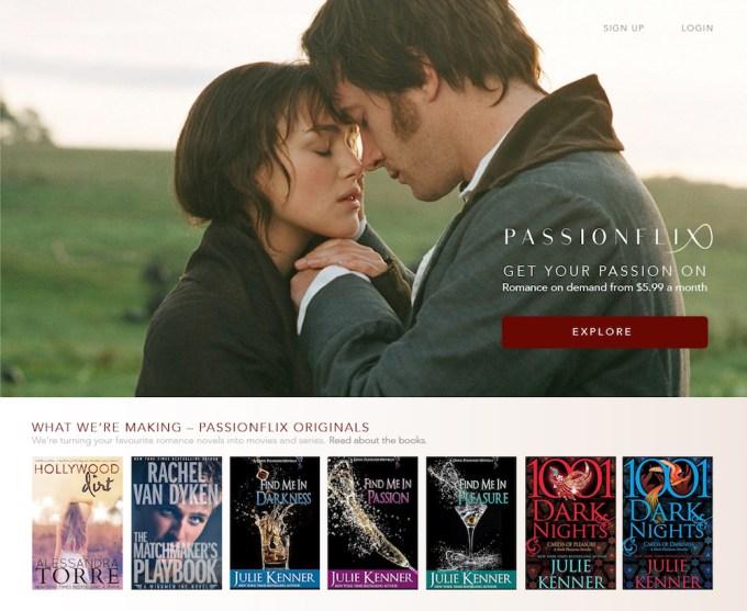 Passionflix screenshot