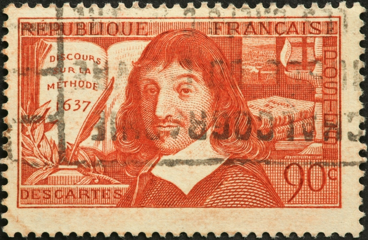 Descartes, French philosopher and mathematician