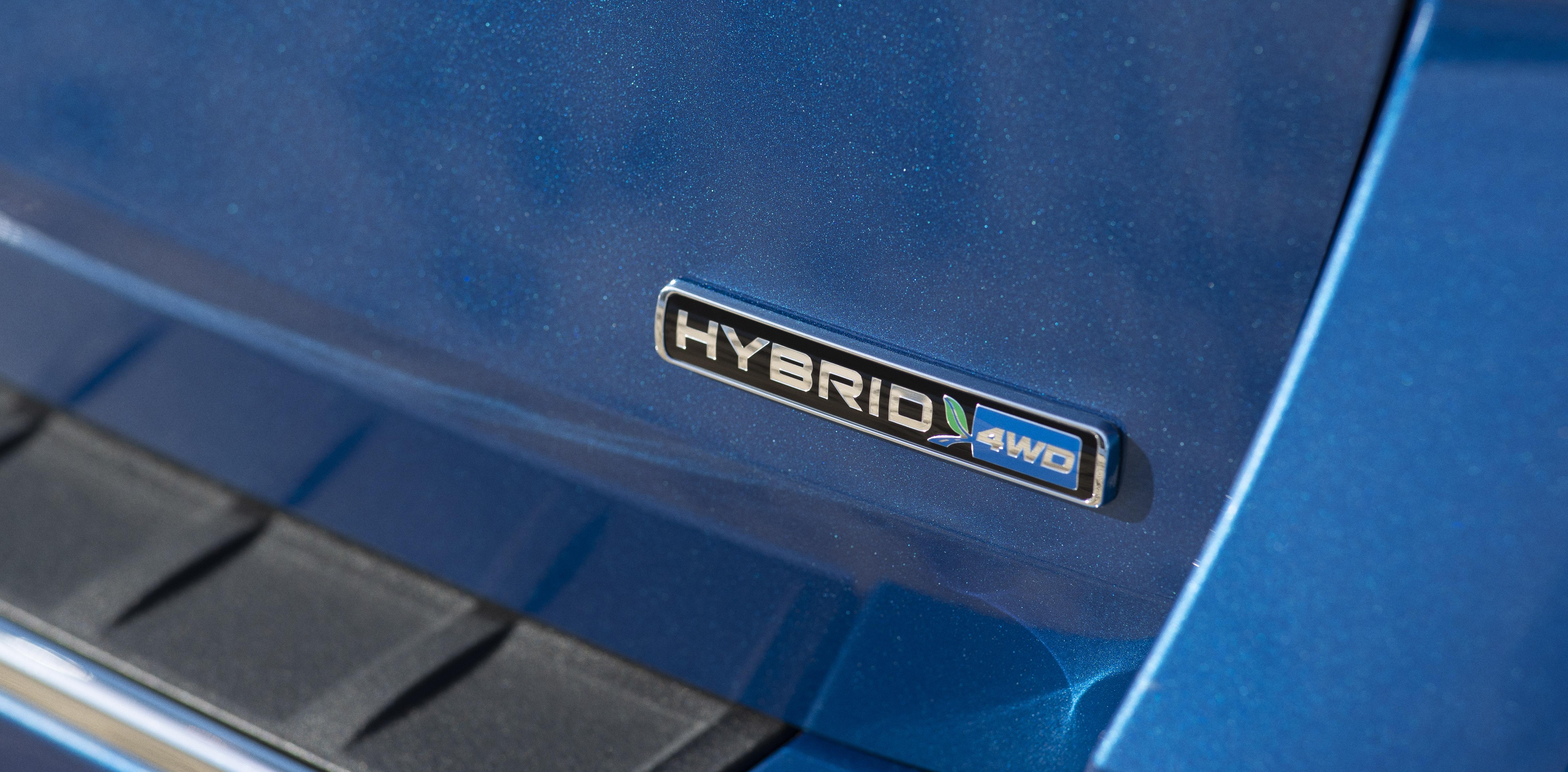 Ford Explorer Hybrid closeup