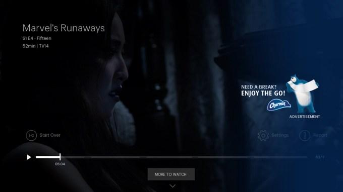 Hulu Pause Ad Charmin