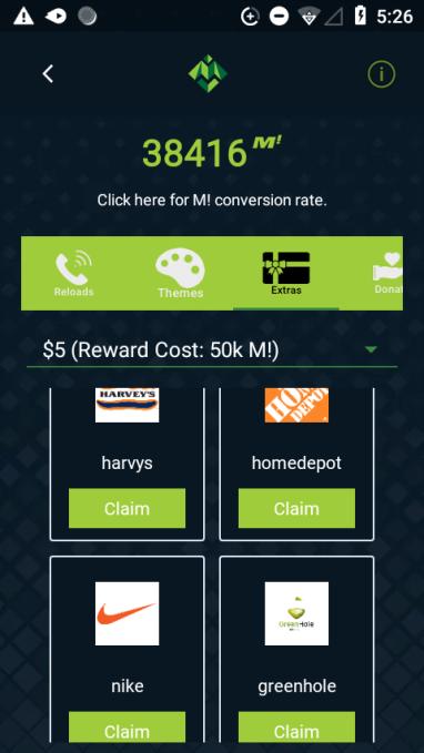 Moolah Mobile screenshot