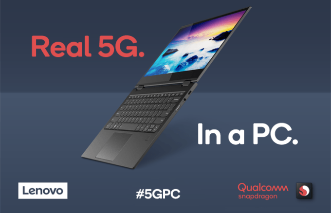 Qualcomm and Lenovo unveil the first Snapdragon-powered 5G PC at Computex in Taipei