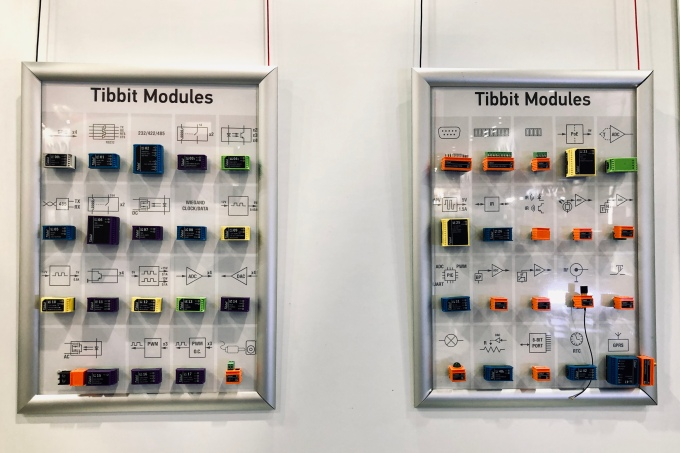 Pre-programmed Tibbit modules from Tibbo