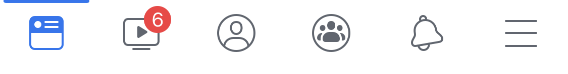 Facebook Notification Dots