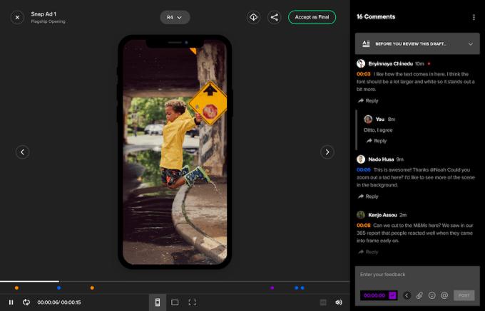 VidMob screenshot