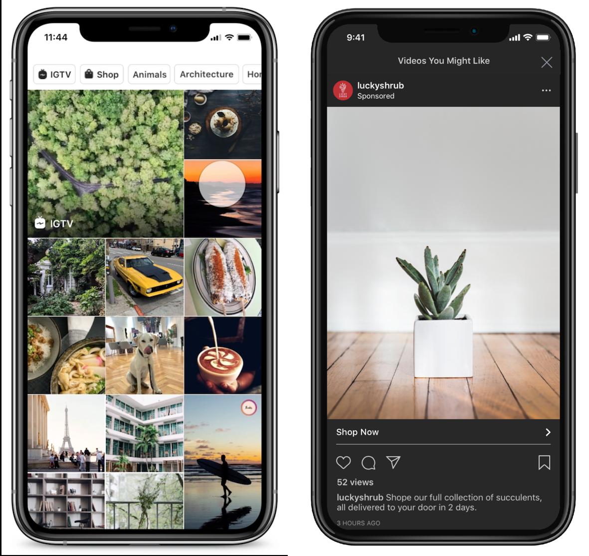 Instagram Ads In Explore Tab