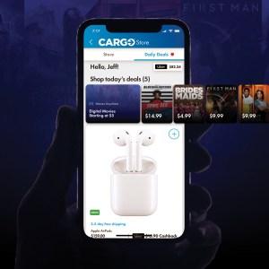 Cargo App Home Screen