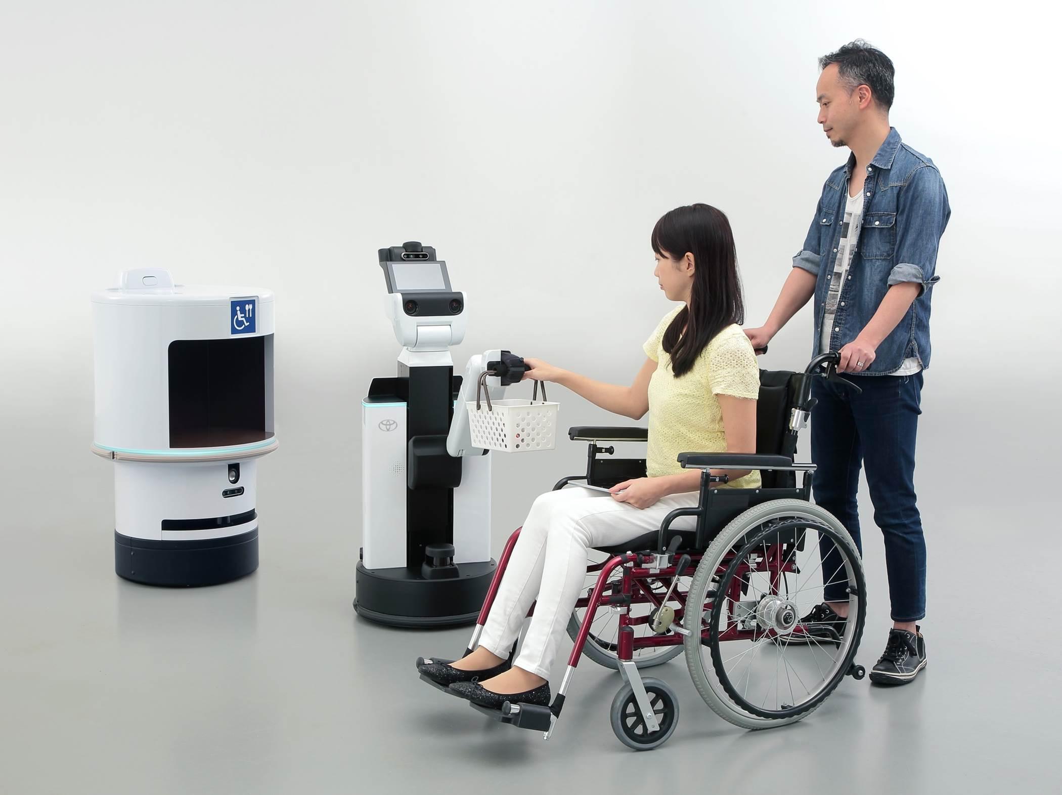 HSR Human Support Robot DSR Delivery Support Robot