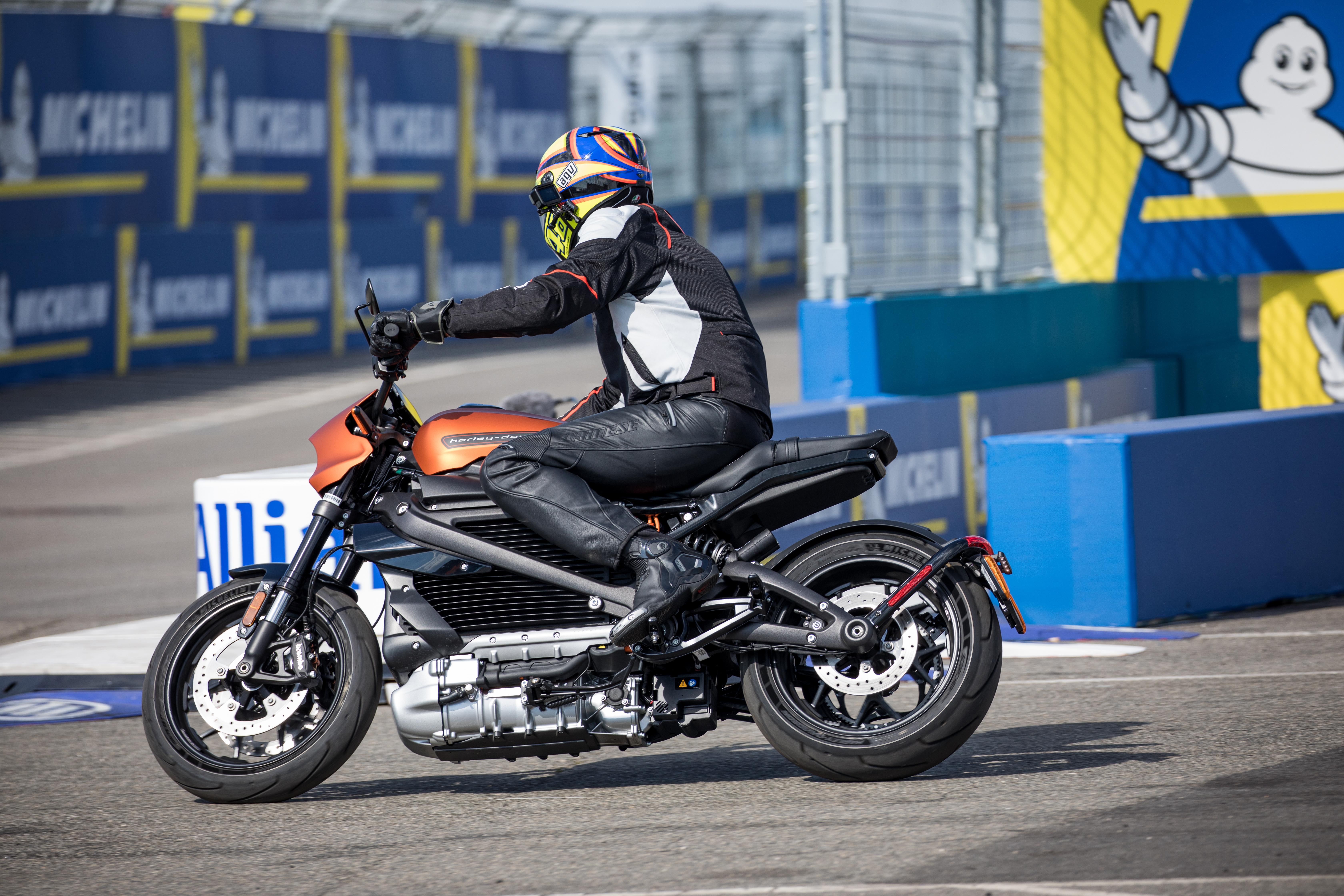 Harley Davidson LiveWire Track