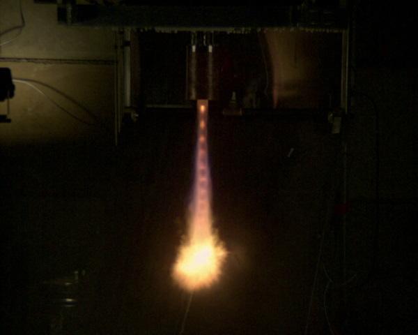 rigel thruster test