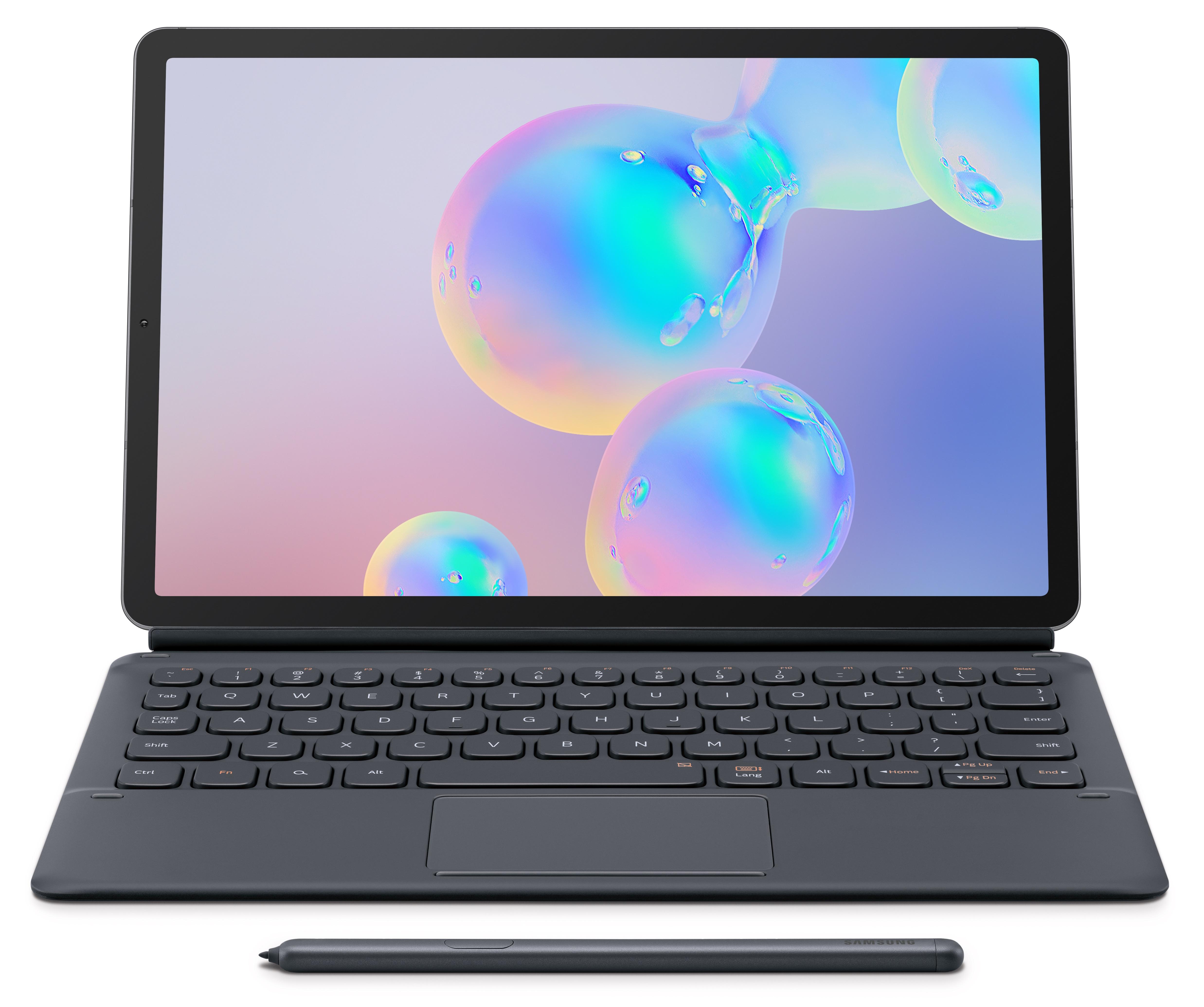 wifi sm t860 tab s 6 bk keyboard open s pen rgb