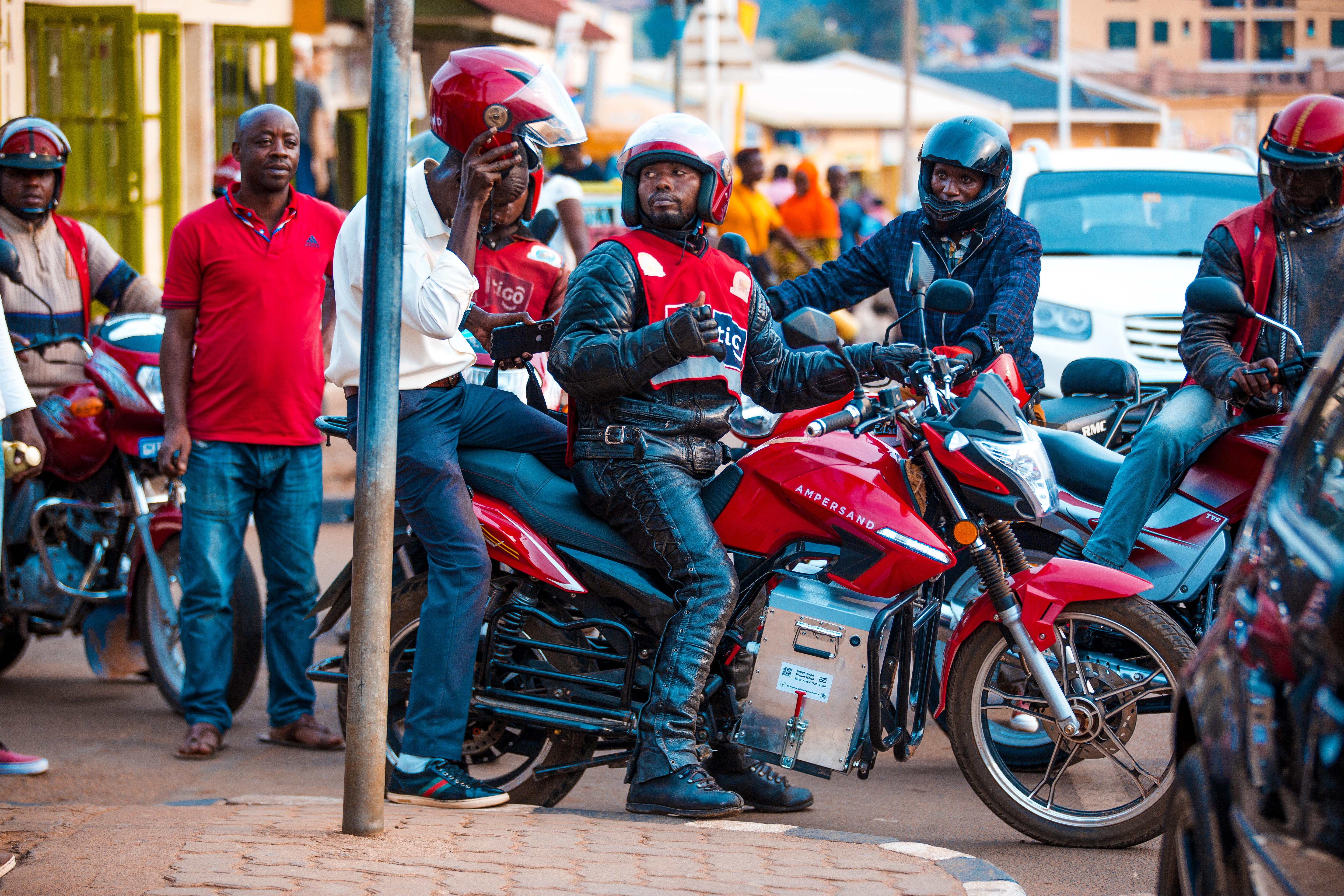 Ampersand Africa e motorcycle