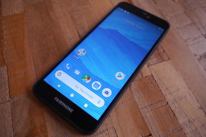 Fairphone main Google