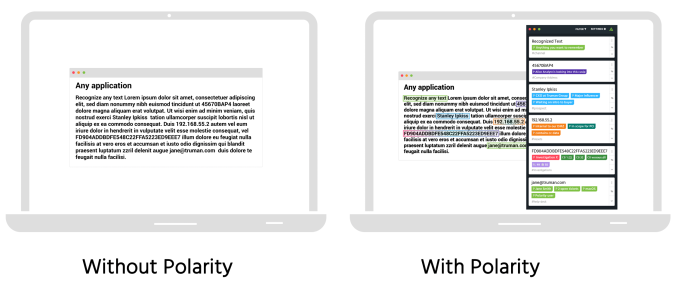Polarity before and after two