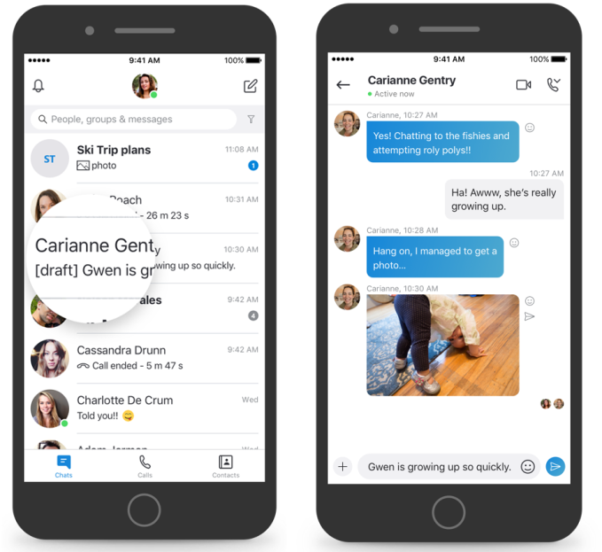Skype new features 1b