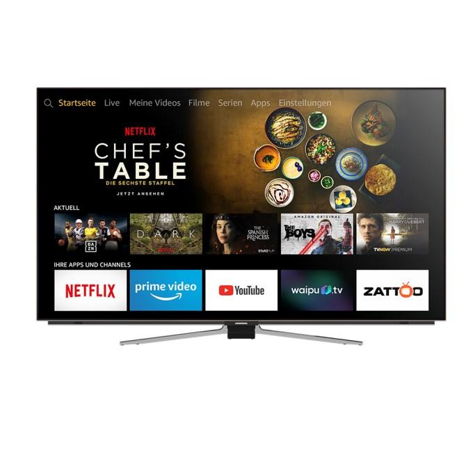 Grundig OLED Fire TV Edition display