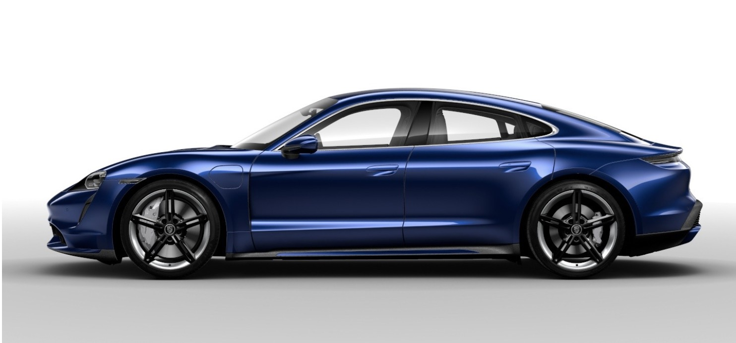 Porsche Taycan Gentian Blue