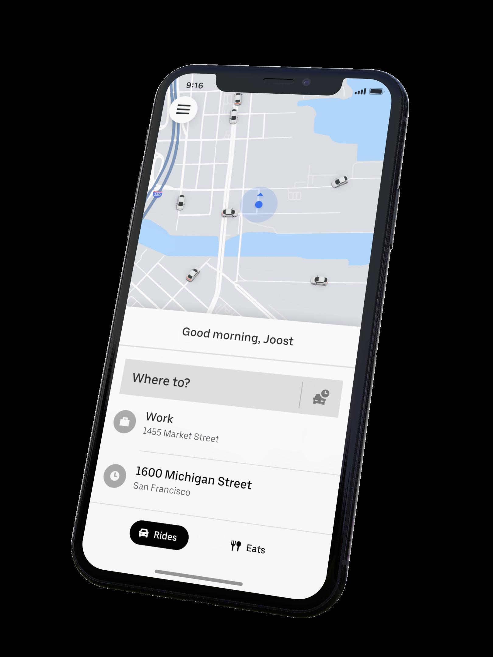Uber App V1 1
