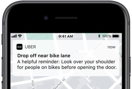 Uber Bike Alerts