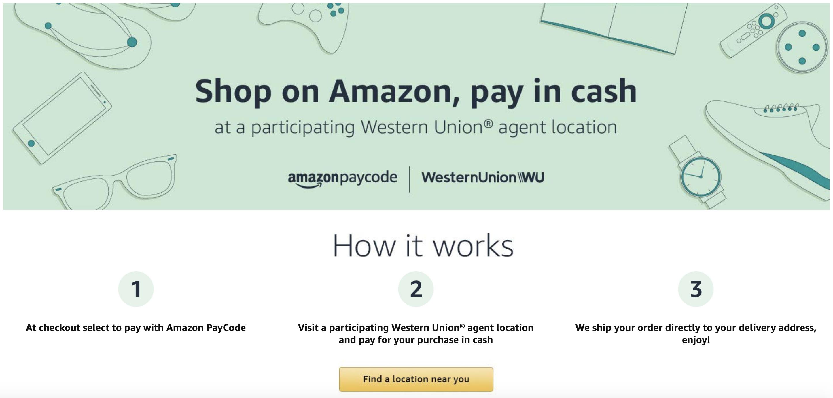 amazon paycode us
