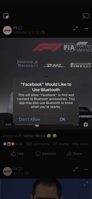 facebook BT
