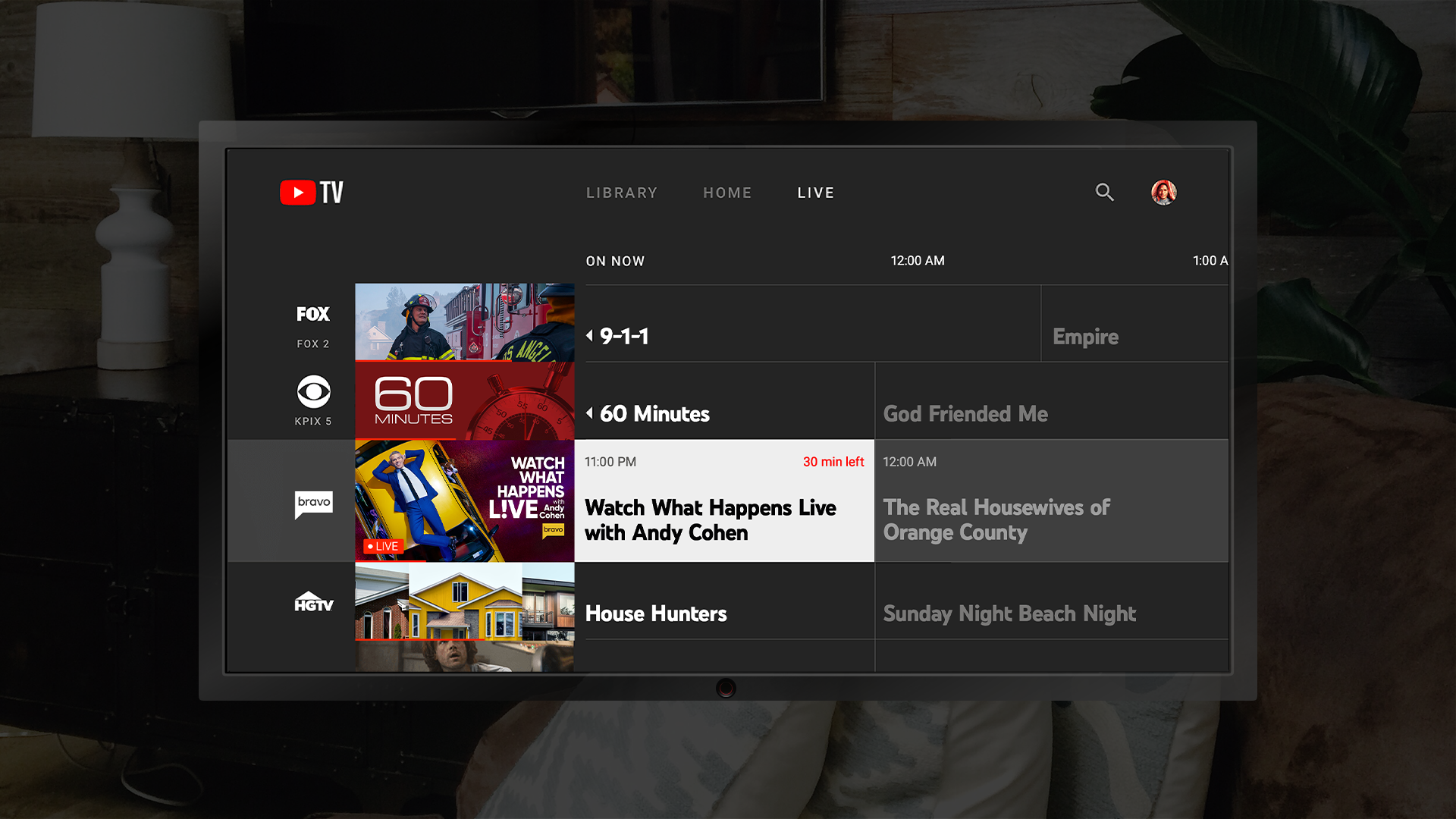 youtube tv on fire tv 2