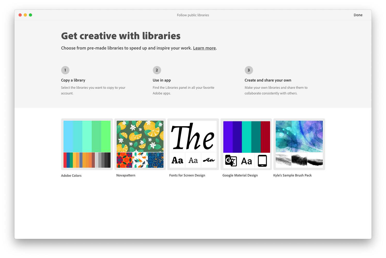 ADOBE CC SERVICES Creative Cloud Desktop Release 4