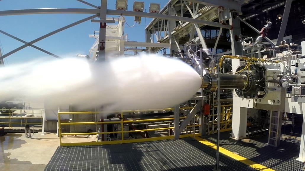 AR1 Successful Engine Preburner Test min