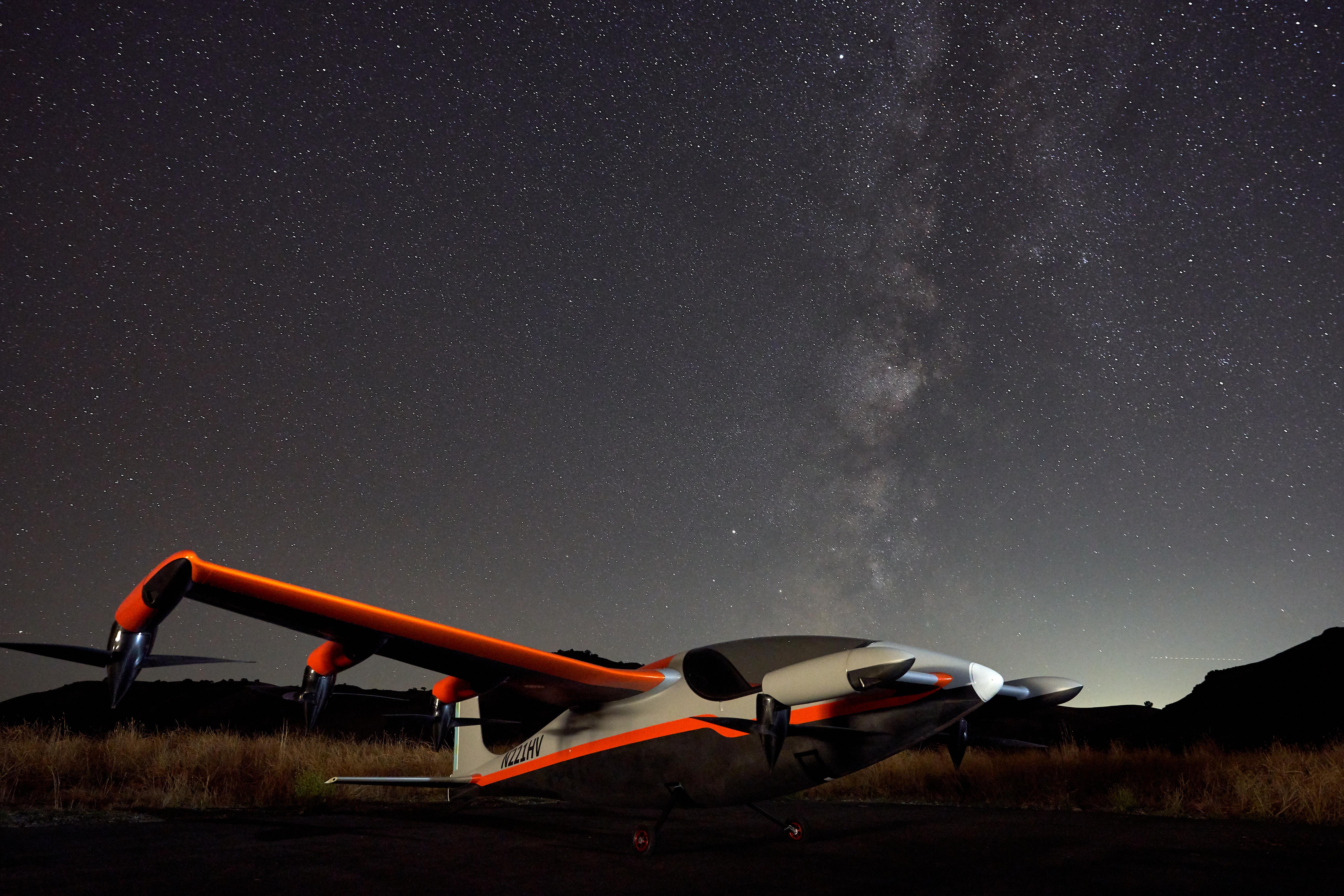 Kitty Hawk Heaviside starry night