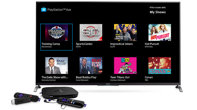 playstation vue