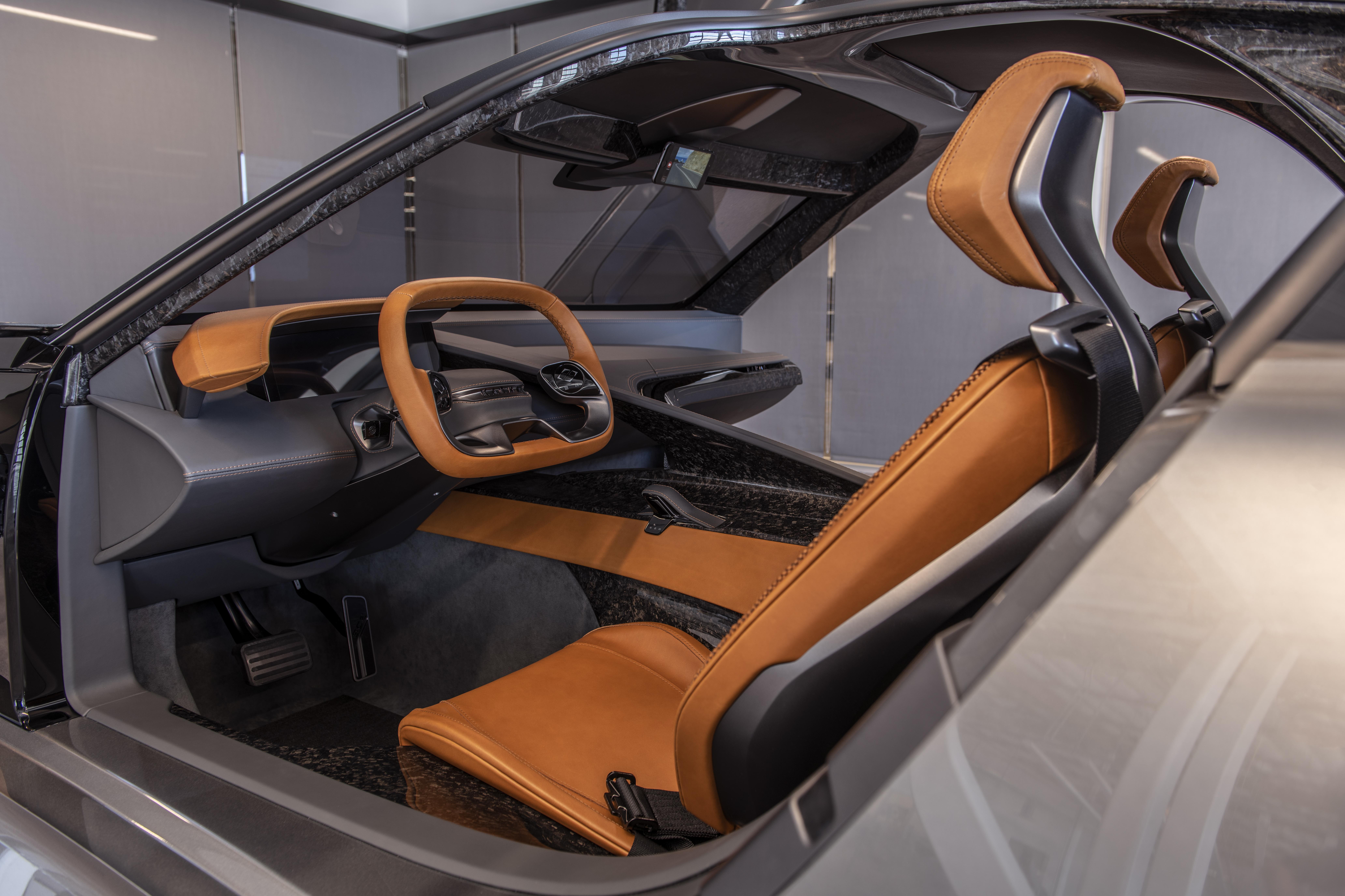 Karma Automotive SC2 Interior