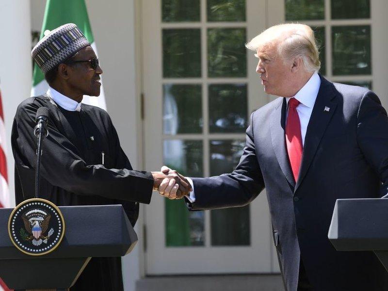 Trump Buhari Nigeria
