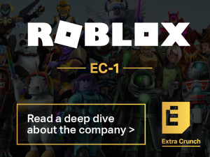 Read a deep dive about Roblox on Extra Crunch