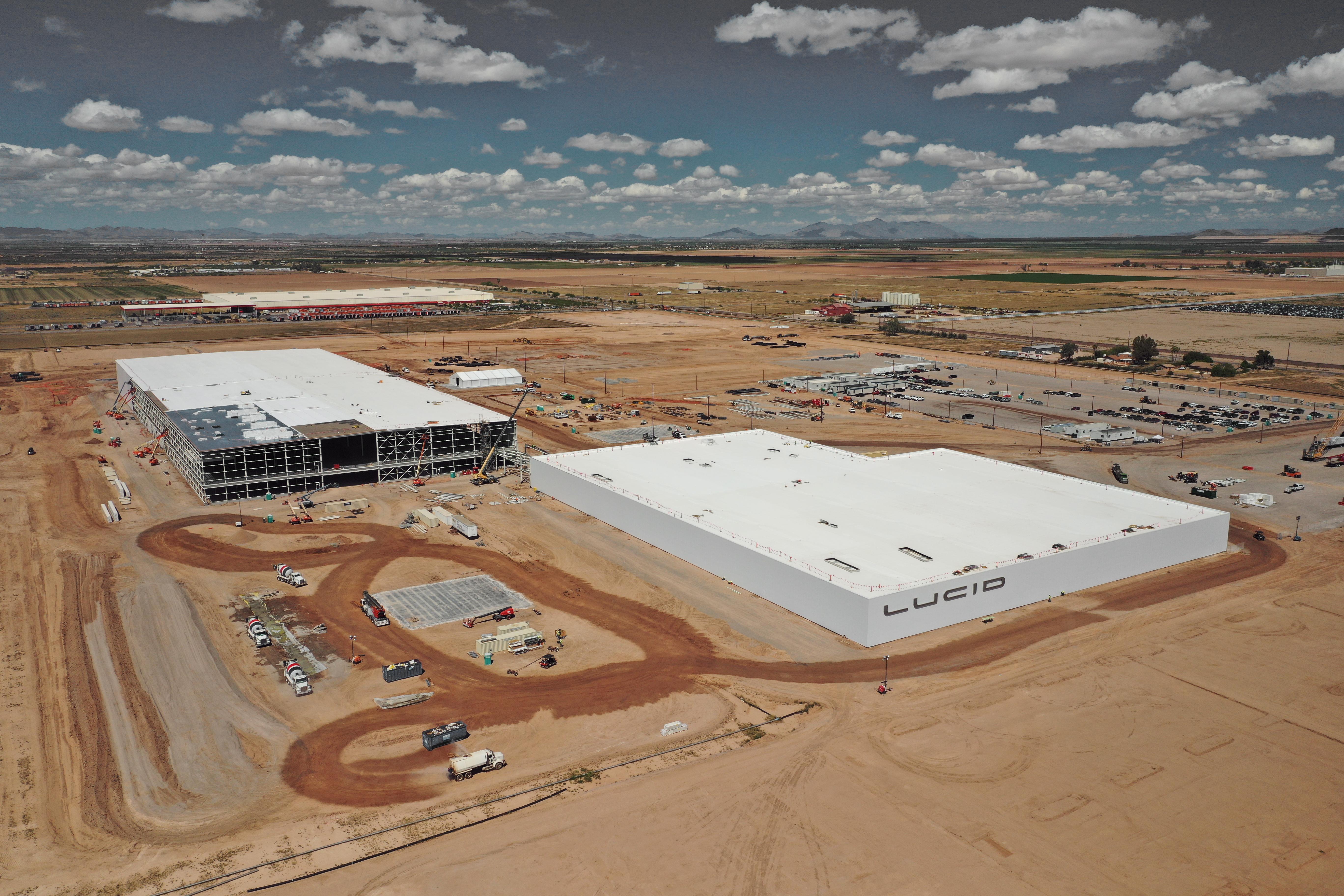 Lucid Motors factory AZ