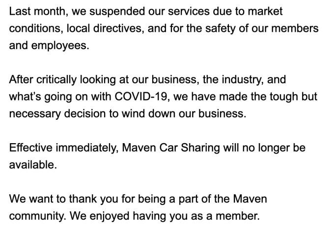 maven shut down