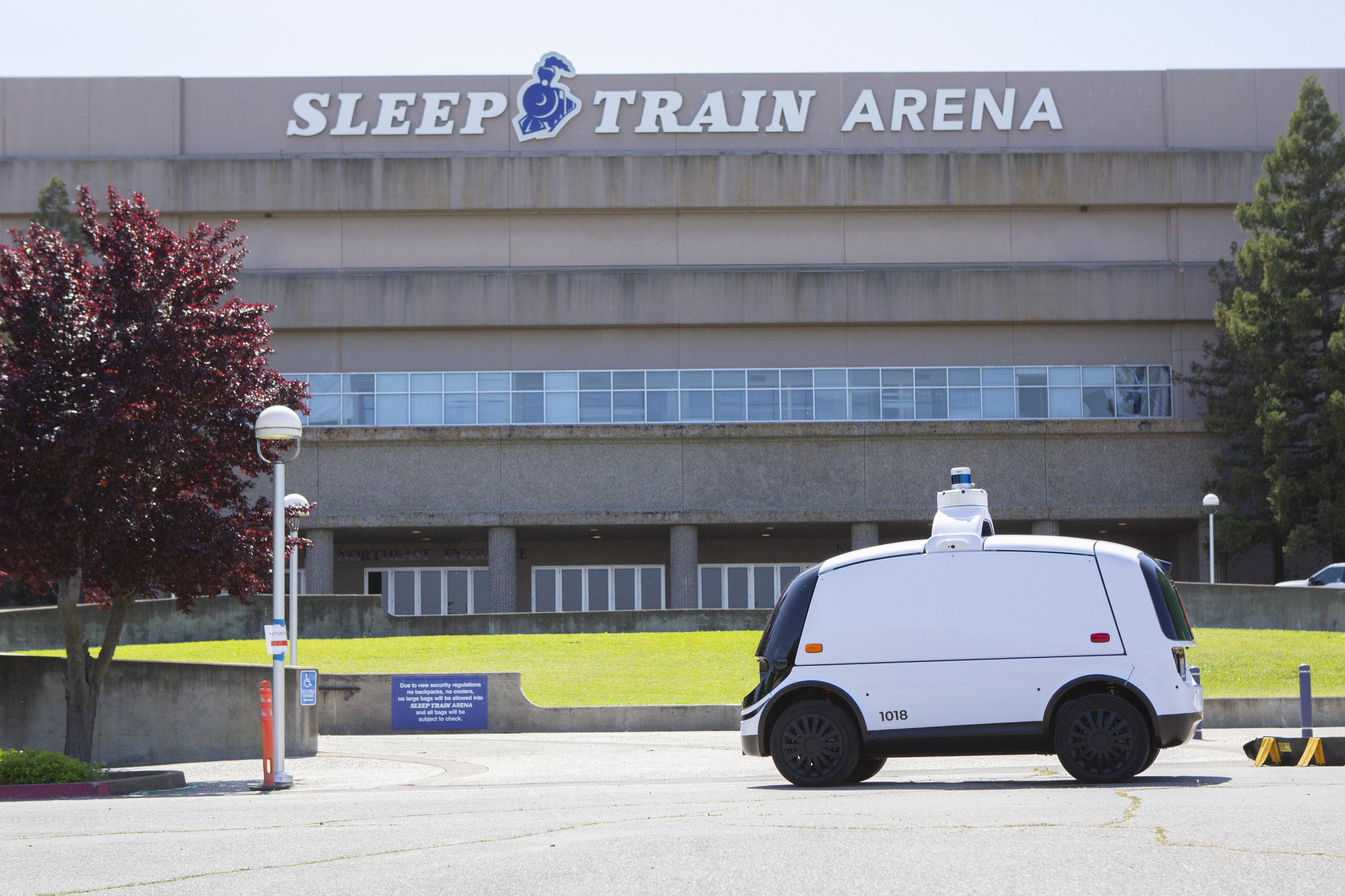 nuro sleep train autonomous