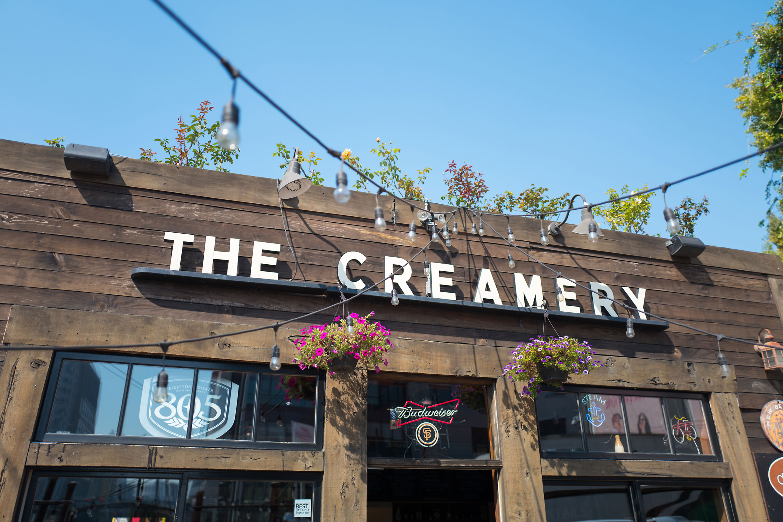 Facade of the Creamery