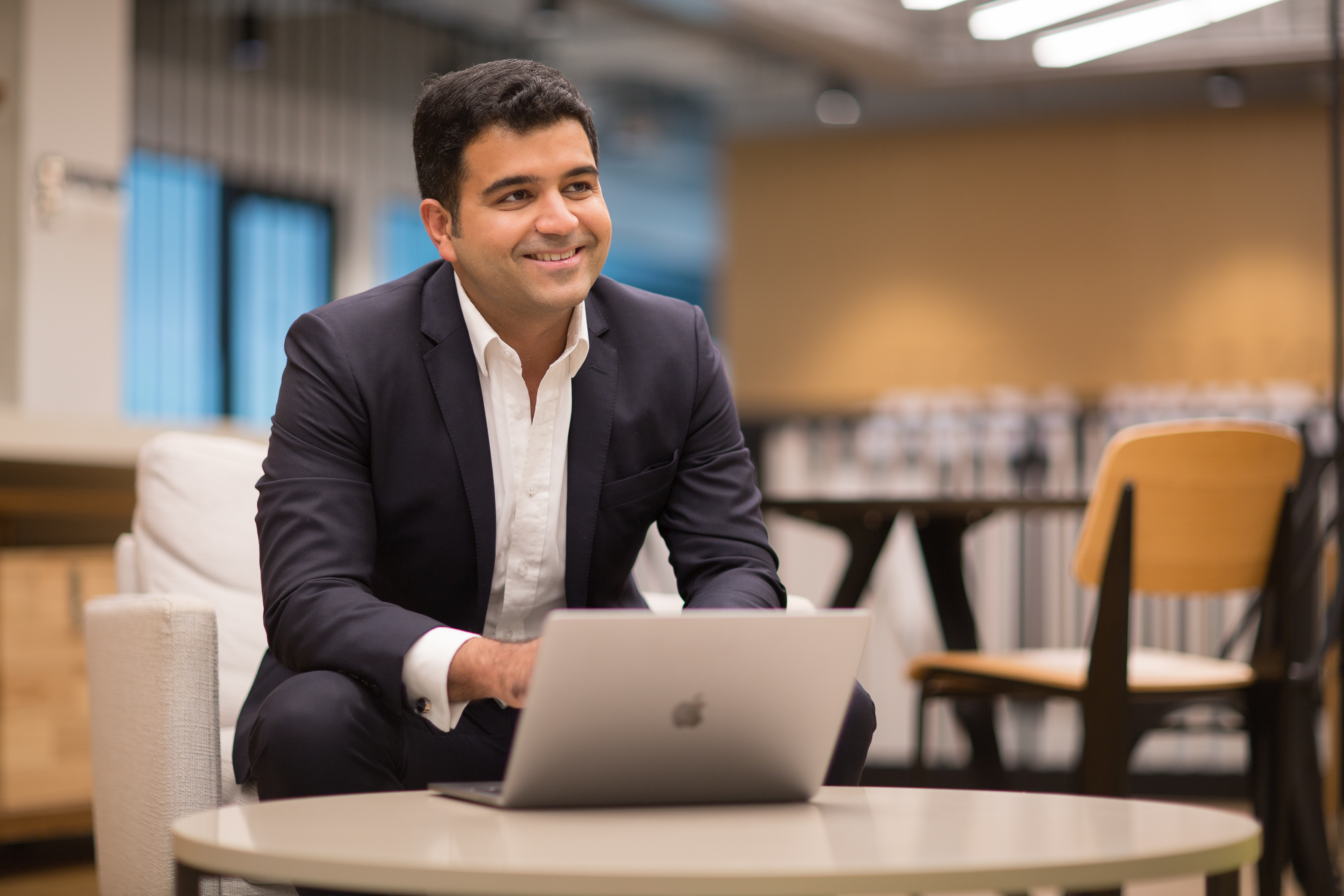 Dhruv Arora, the founder and CEO of Singapore-based investment platform Syfe