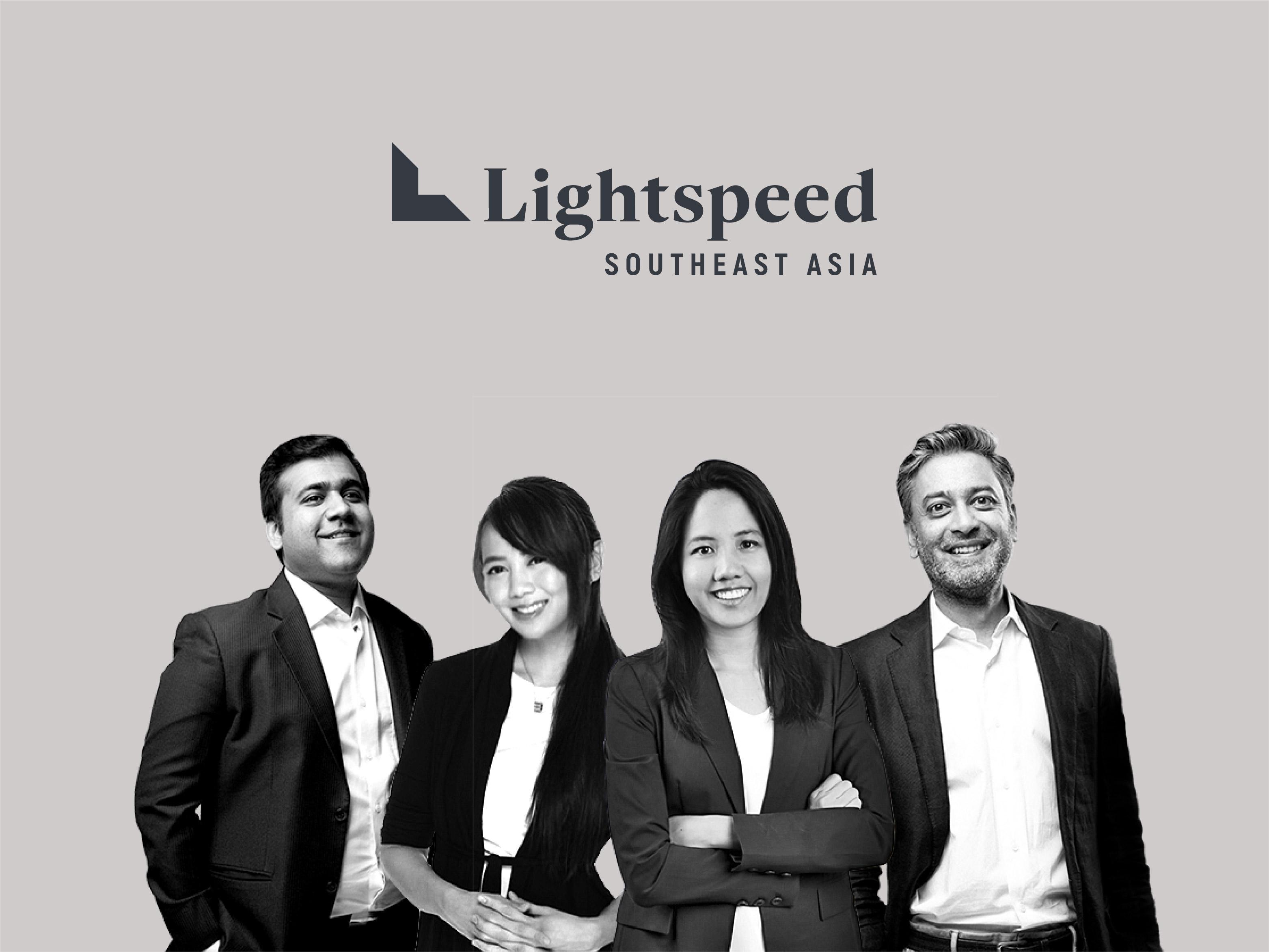 A group photo of Lightspeed Venture Capital's Southeast Asia team
