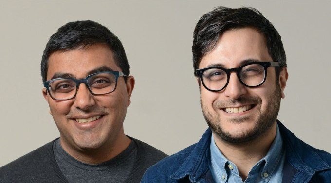 Chartable founders Harish Agarwal and Dave Zohrob