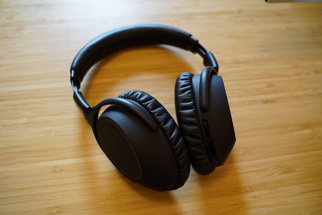 Sennheiser PXC 550-II headphones on table
