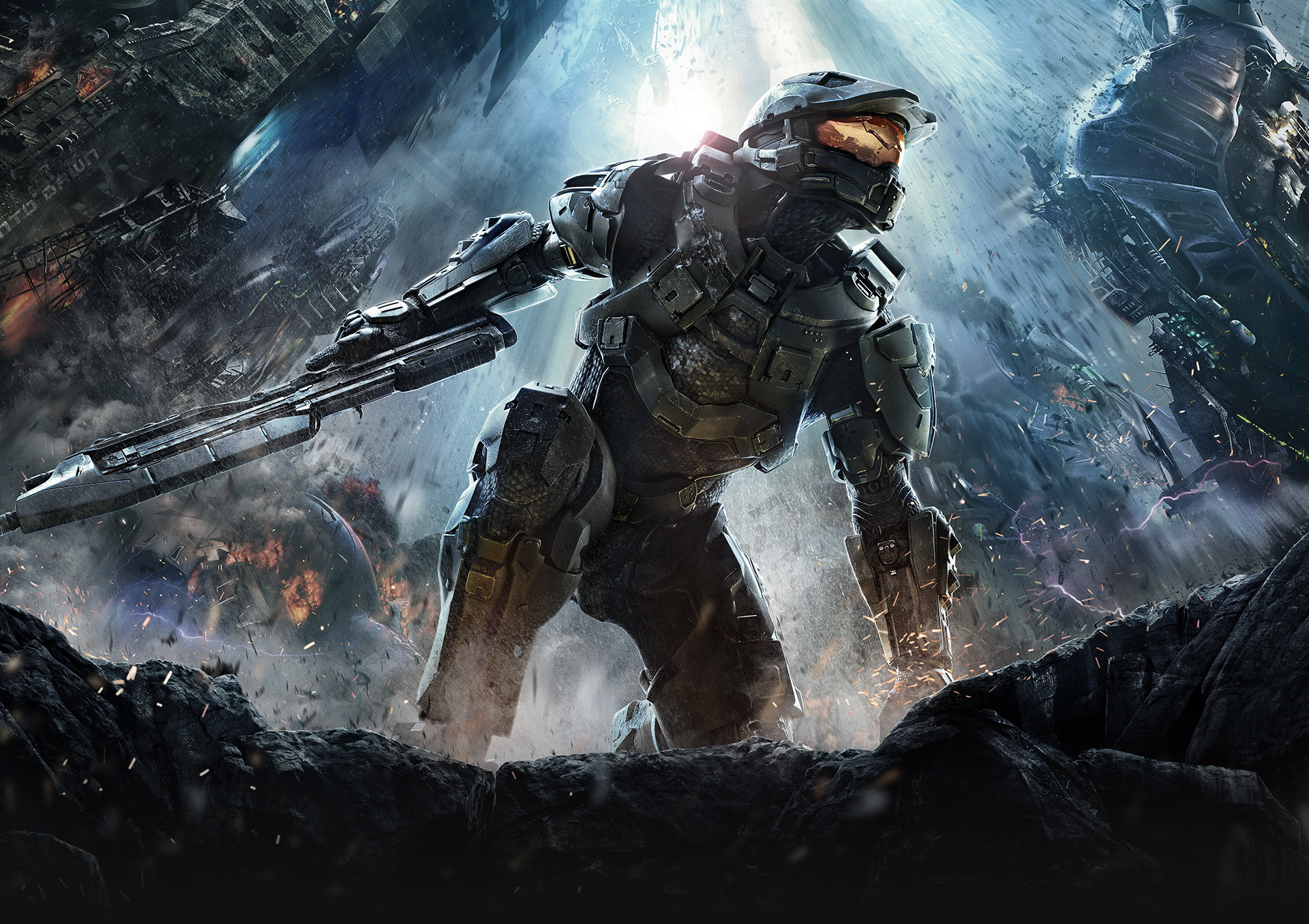 Image of Master Chief from halo