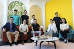Eric Cheng, co-founder and group CEO of Carsome (third from right), Juliet Zhu, group CFO of Carsome (second from right) and the company's senior management team