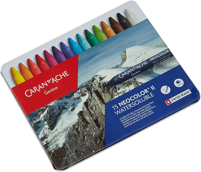 Caran D'Ache Neocolor II water soluble pastels