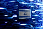 Israel, Jerusalem national official state flag in a computer technological world